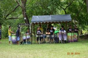 mudpack festival drumbeaters