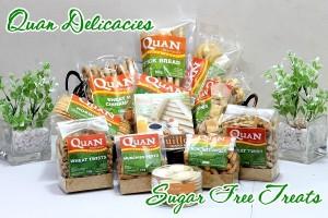 Quan Delicacies Sugar Free Pasalubong treats