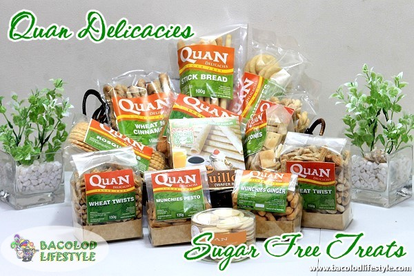 Quan Sugar Free Pasalubong treats