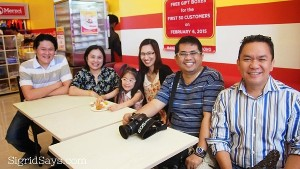 Negros Bloggers at the Opening of Merzci Pasalubong Sm City Bacolod