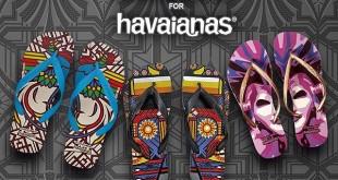 francis libiran - havaianas design flip flops