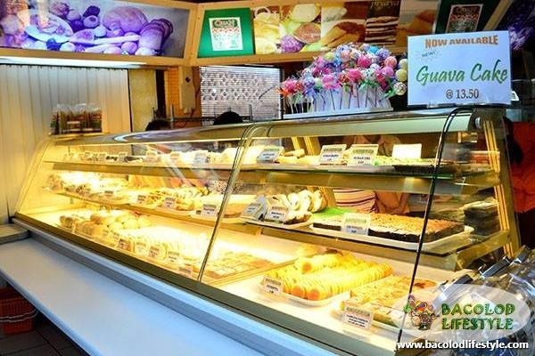 quan delicacies bacolod - display counter 2