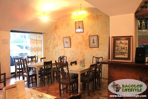 trattoria uma italian restaurant in Bacolod City