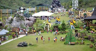 Campuestohan Highland Resort in Bacolod City Zipline