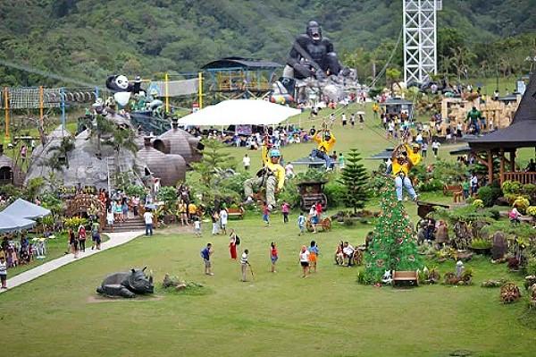 Campuestohan Highland Resort in Bacolod City Zipline