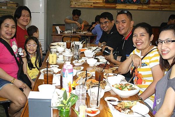 Negros Bloggers at Orange Karinderia Bacolod