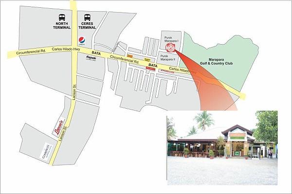 Rau Ram Cafe location map