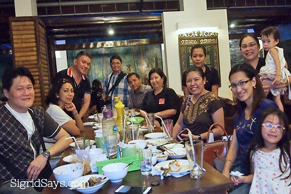 negros bloggers at Rau Ram Cafe opening