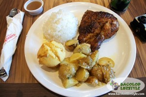 Kenny Rogers Roasters - SM City Bacolod - chicken thigh