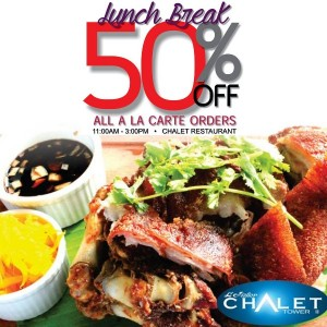 L Fisher Chalet Restaurant Promo