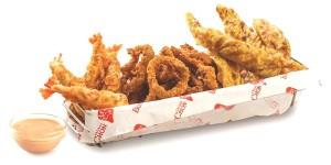 BonChon seafood platter