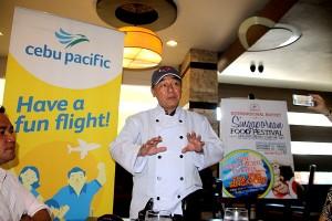 L Fisher Hotel Singapore Food Festival - Chef HK Tan