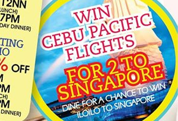 win ticket to singapore