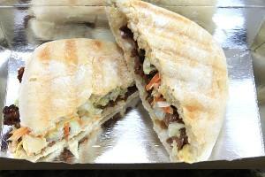 Asian Beef sandwich