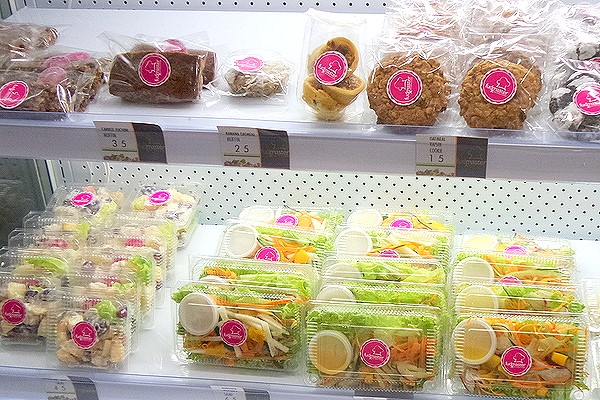 foods in the chiller of fudmaster