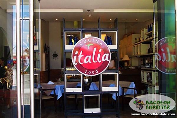 italia restaurant front signage 2