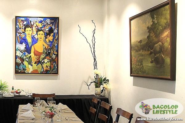 italia restaurant paintings
