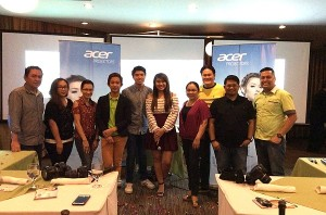 negros bloggers at acer event