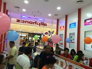 allphones store at sm city bacolod