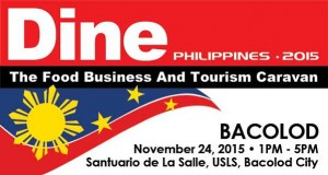dine philippines goses to Bacolod City