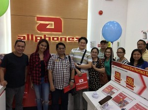 negros bloggers at allphones store