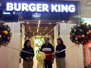 burger king ribbon cutting