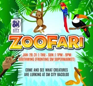 zoofari at SM City Bacolod