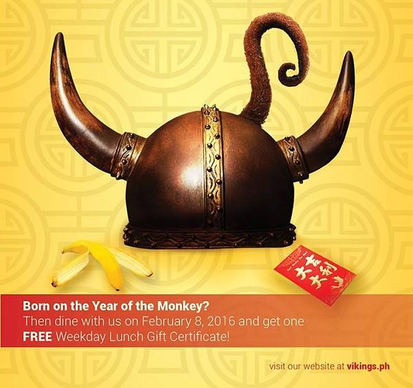 vikings chinese new year promo