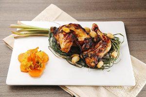Campus Chicken Inasal with Atchara