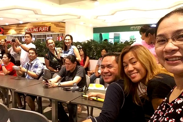 Negros Bloggers at the Event