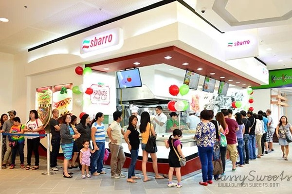 Sbarro SM City Bacolod