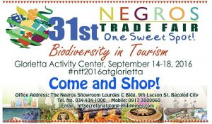 31st Negros Trade Fair 2016