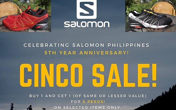 salomon philippines cinco sale