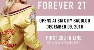 forever 21 opens in Bacolod City