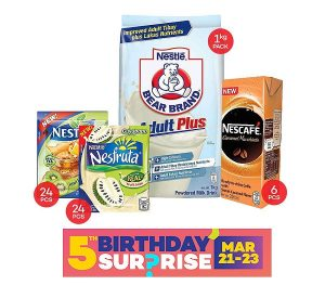 Nestle Lazada Anniversary Sale Pack