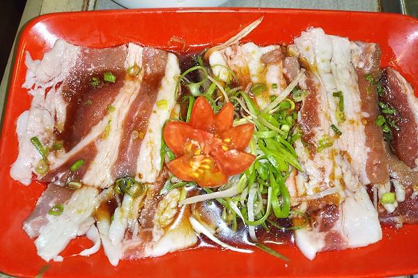 The Yakiniku Room Beef belly