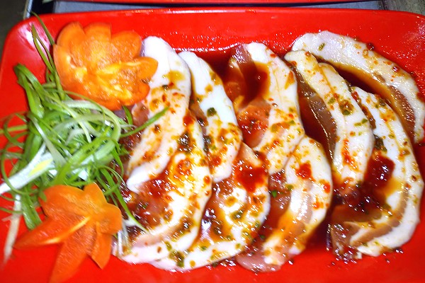 The Yakiniku Room Pork belly