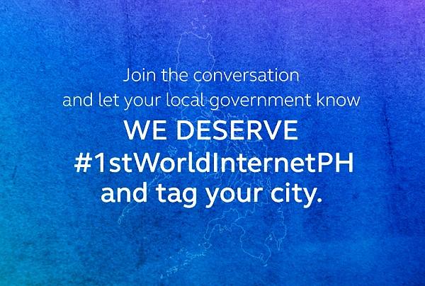 Globe #1stWorldInternetPH is best telecom campaign