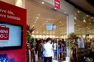 Miniso Bacolod at SM City Bacolod Storefront