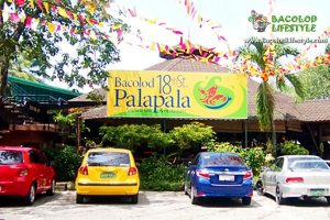 Bacolod 18th Street Palapala Seafood Grill n Restaurant Front parking