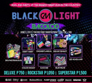 Color Manila Run - Blackl;ght Bcolod
