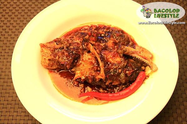 Lapu-lapu Fish Head in Bell Pepper Sauce