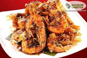 Stan's Black Pepper Shrimp at Choobi Choobi Bacolod