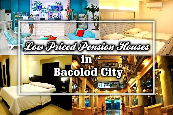 Low priced Pension Houses in Bacolod City, Philippines
