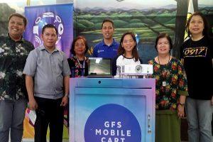 Cebu Nat'l Science High School receives GFS Mobile Tech Cart