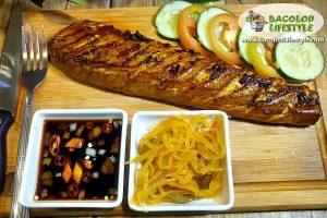 Grilled Tuna Belly - Bones & Belly Restaurant Bacolod