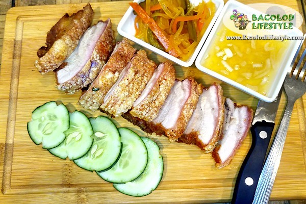 Lechon Kawali - Bones & Belly Restaurant Bacolod