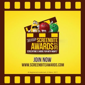 M&M'S® Screenbite Awards!