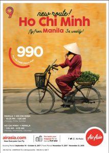 AirAsia Ho Chi Minh promo poster