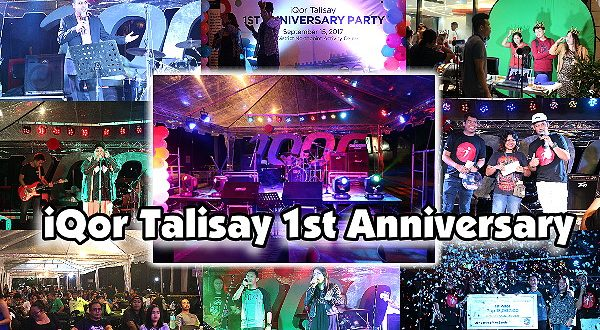 Iqor talisay celebrates its st anniversary bacolod